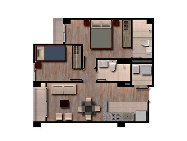 Apartamentos - Boreal Santa Matilde